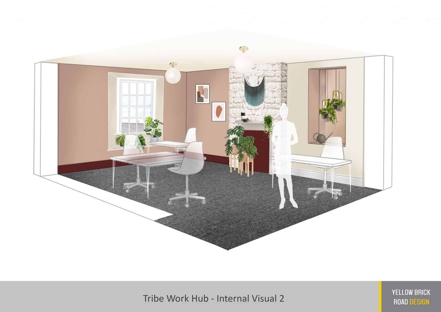 The Tribe is a coworking space for female entrepreneurs in Totnes, Devon