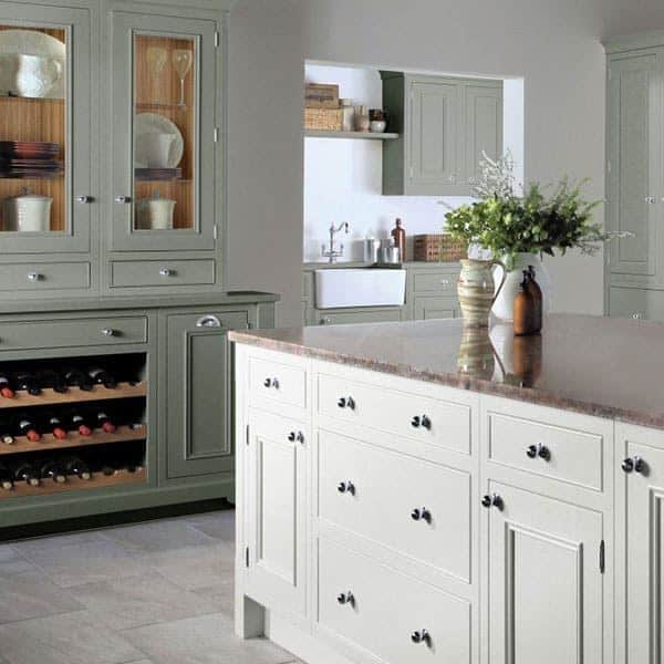 Matter Designs sage green contemporary kitchen. 5 things to consider when designing your dream kitchen.