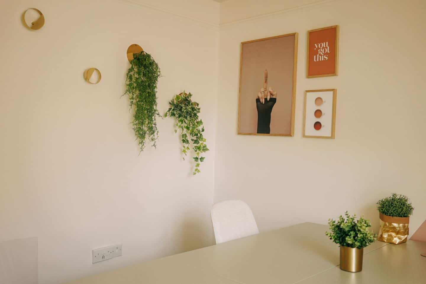 An office at The Tribe, a coworking space for female entrepreneurs in Totnes, Devon
