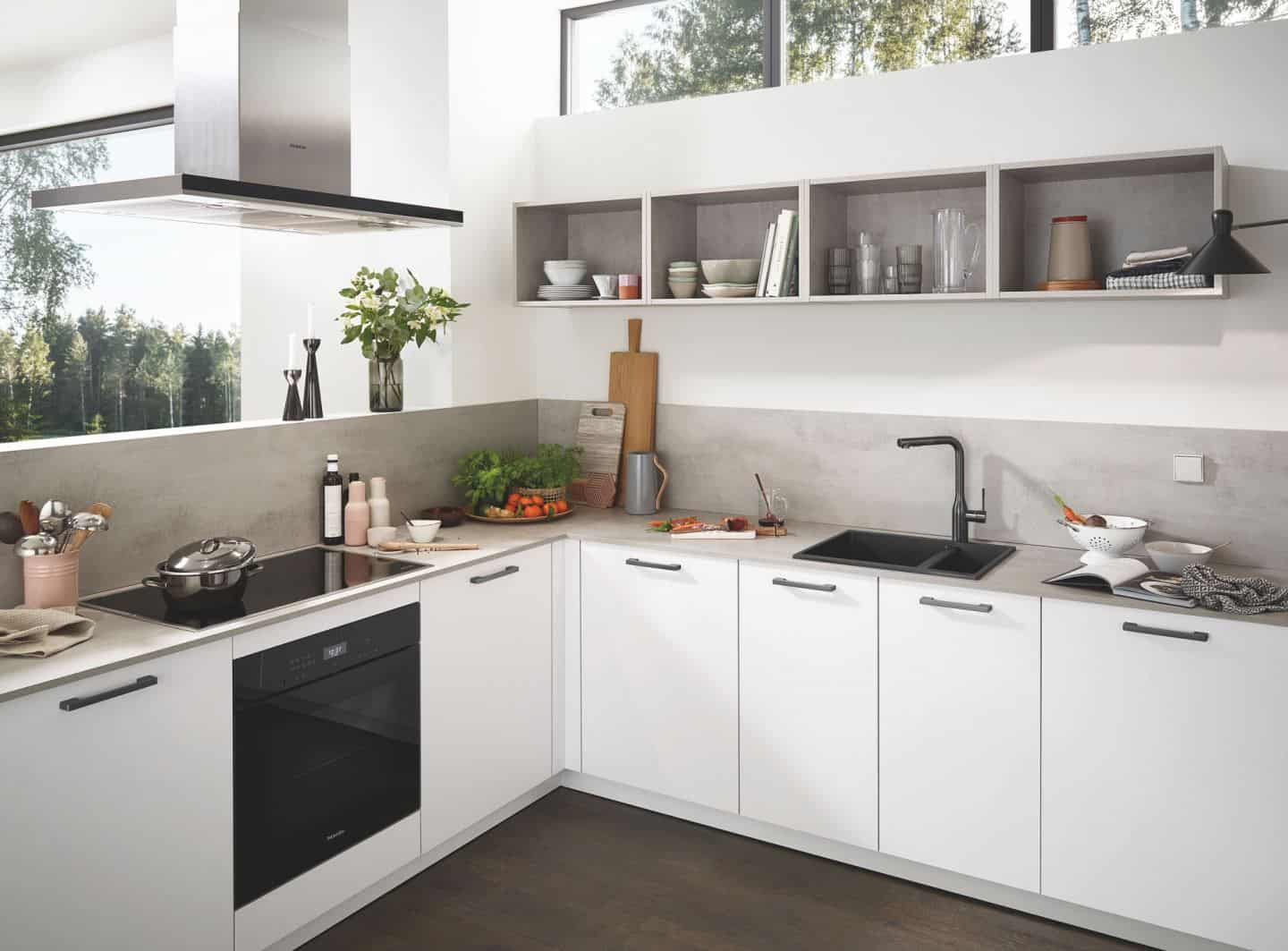 Kitchen design trends - composite sinks by Grohe
