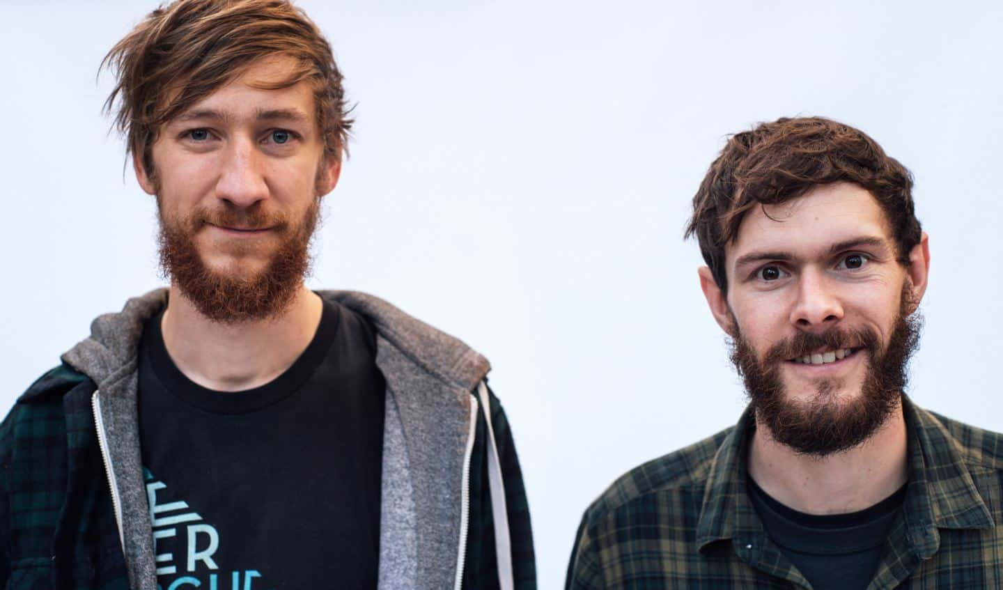 Josh Kennard and Oliver Milne, co-founders of Forge Creative