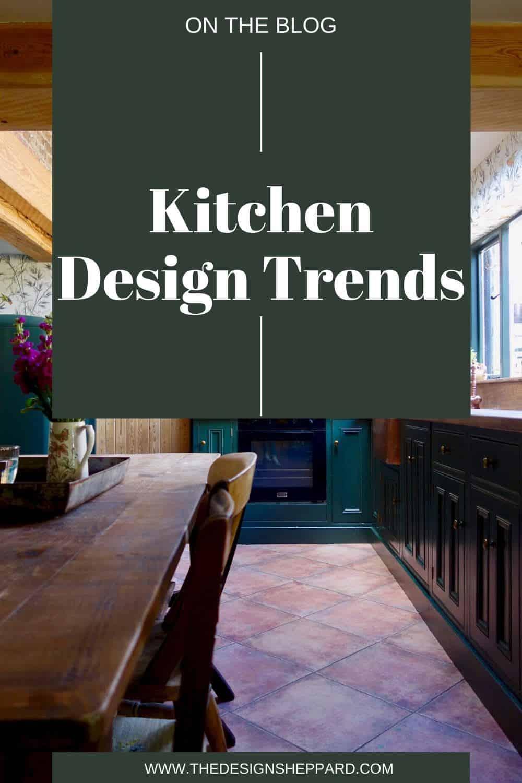 Kitchen design trends pinterest pin