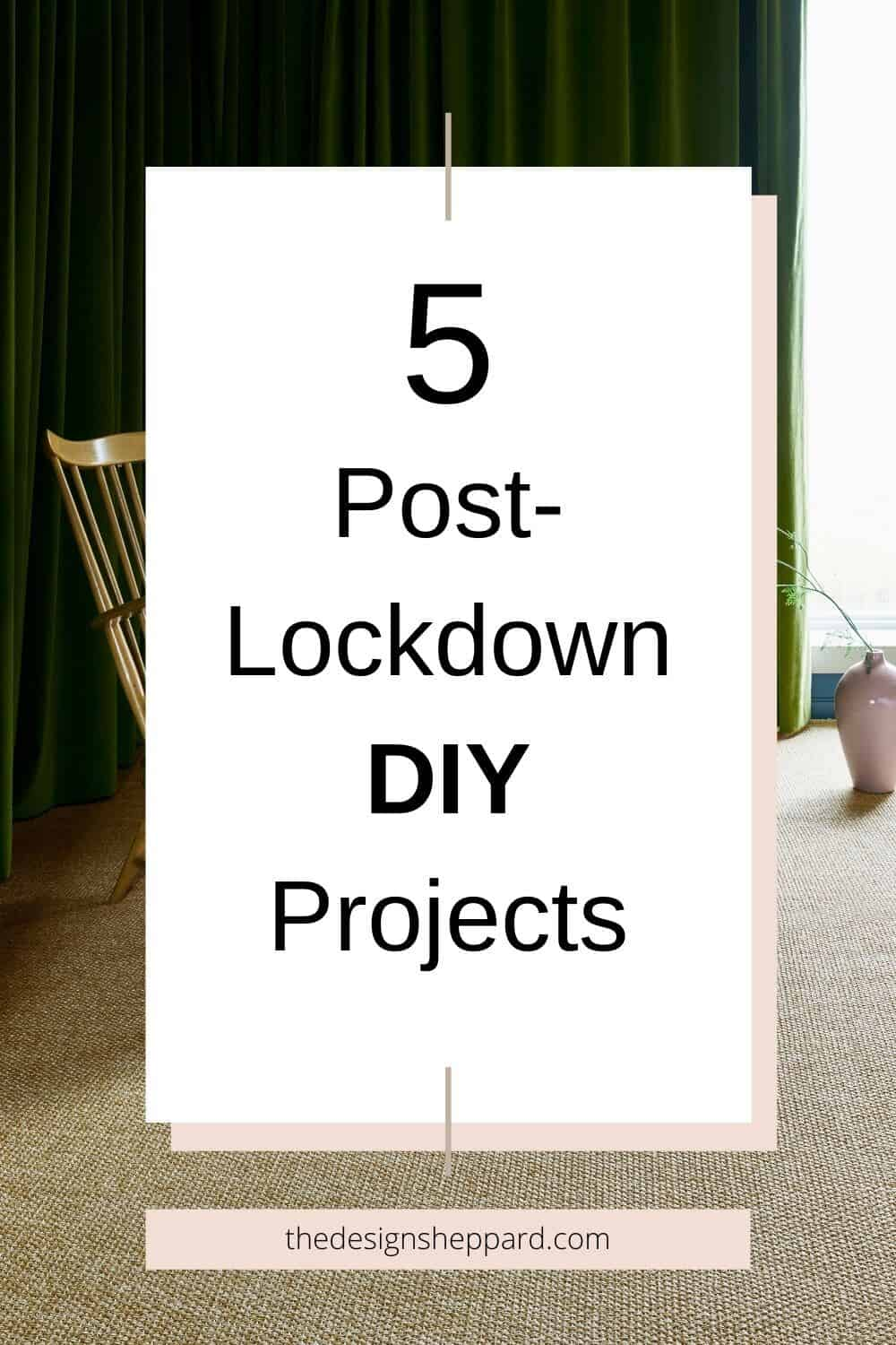 Top 5 post-lockdown home improvement jobs