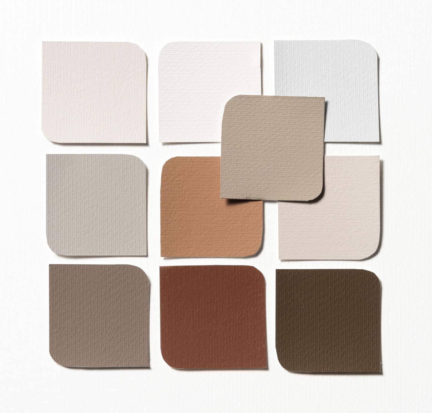 Bringing Natural Elements into the Home. Trust colour palette of neutral colours from Dulux
