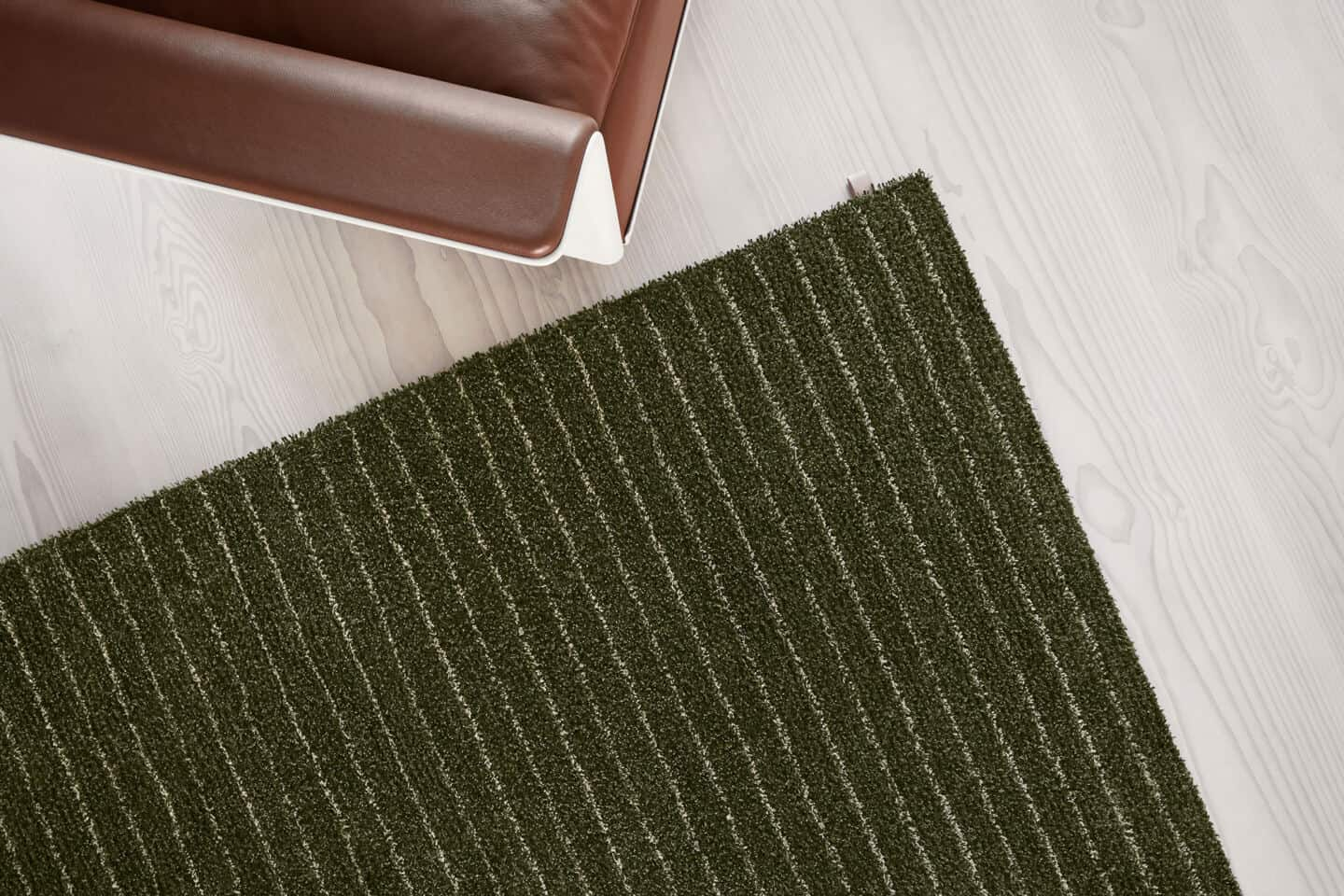 Bringing Natural Elements into the Home. A rug that looks like fresh grass