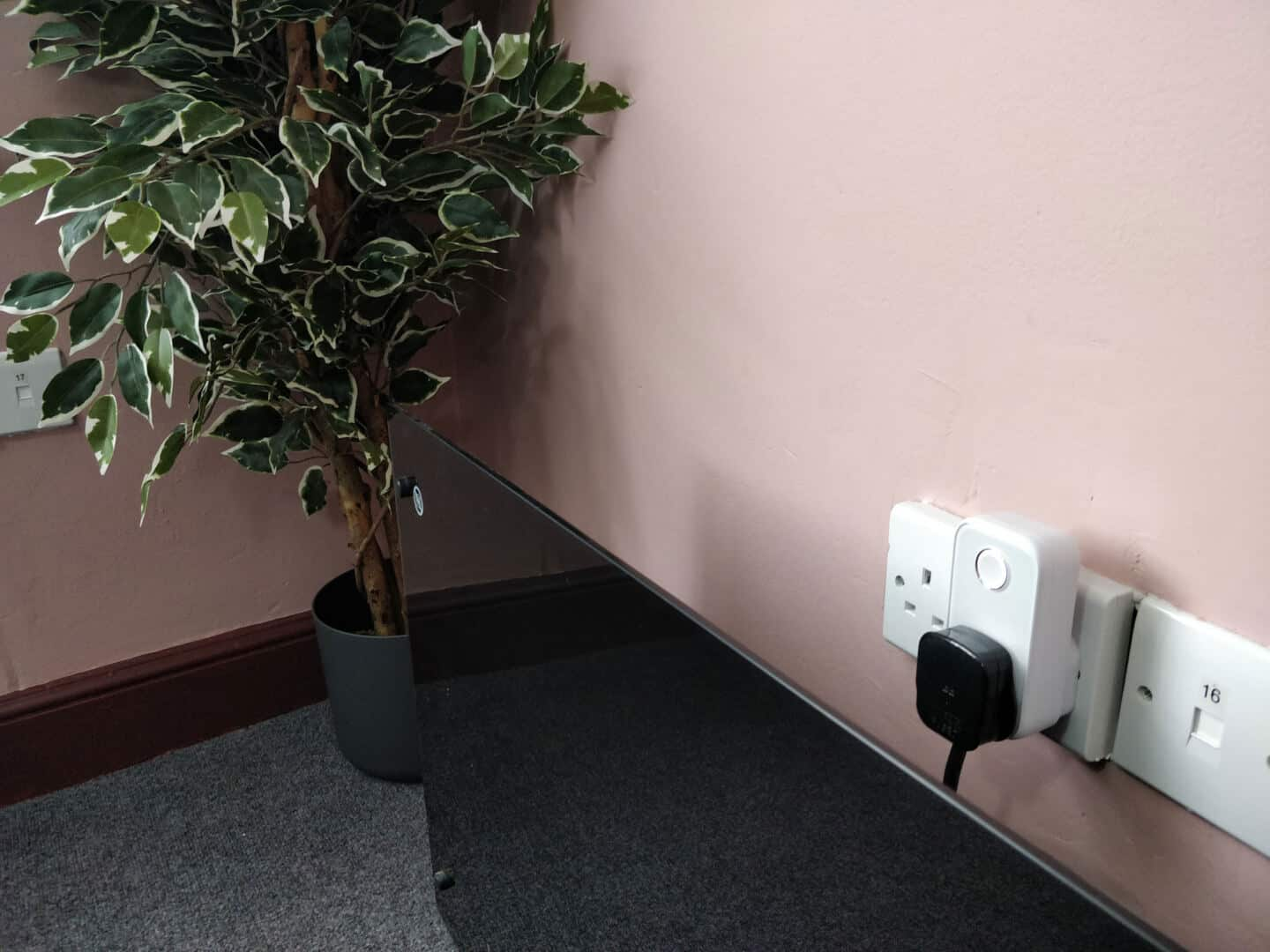 Hive active plug can be used to control your electric heating in a smart office