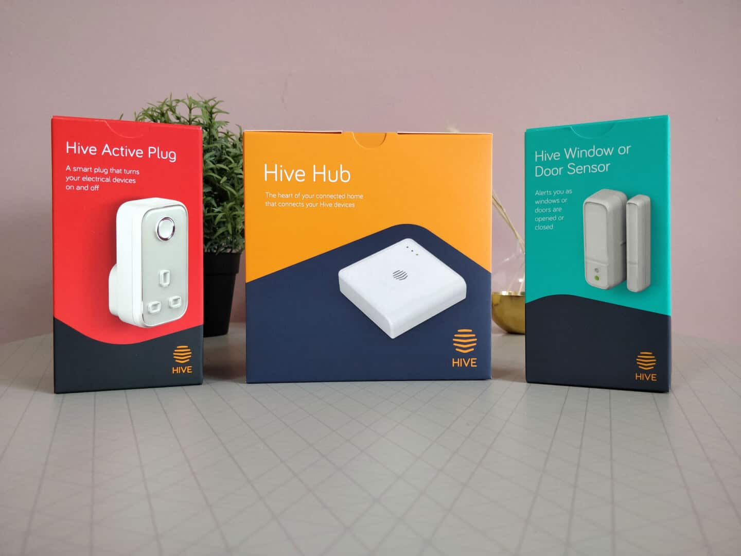 Hive smart devices can be used to create a smart office