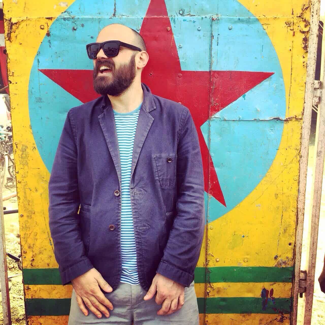 Simon Goff, founder of designer rugs company Floor_Story