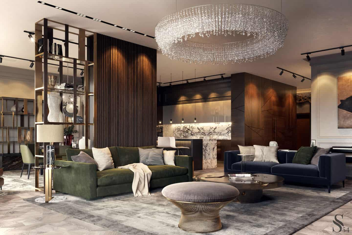 How to decorate like a Millionaire. Luxury detailed living room by Covet House