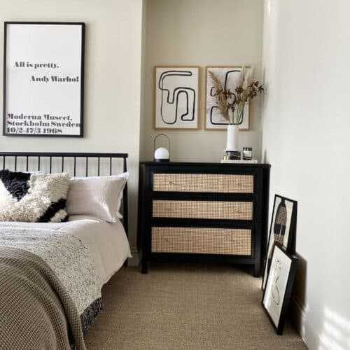 a room with magnolia walls - Duvet Day by Coat Paints