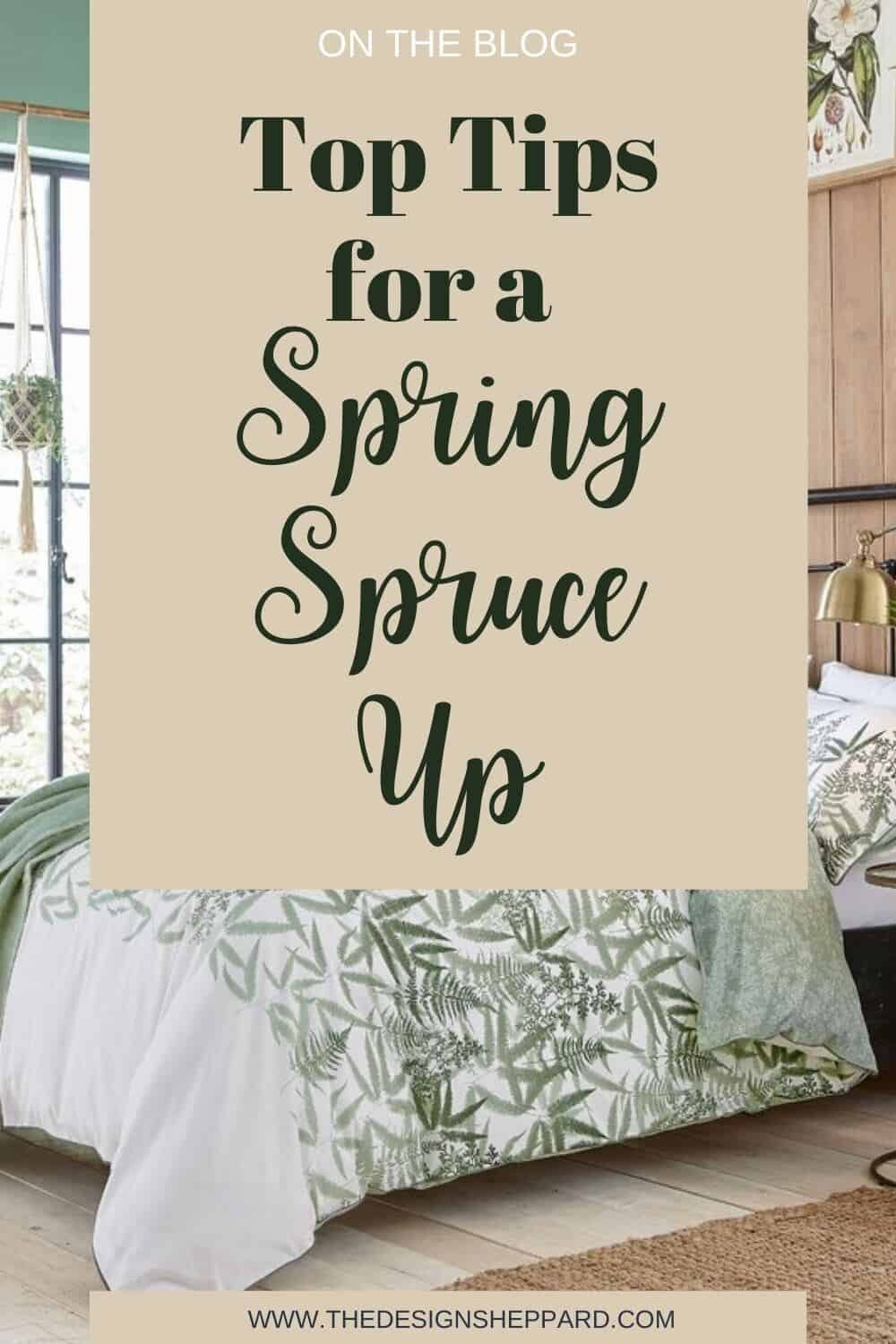 Top tips for a Spring Spruce Up